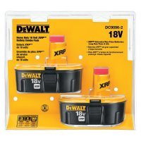 DeWalt® XRP™ Rechargeable Battery Packs - XRP Rechargeable Battery Packs, 18 V - 115-DC9096-2 - DeWalt®