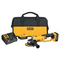DeWalt® 20V MAX* Lithium Ion Grinder Tool Kits - 20V MAX Lithium Ion Grinder Tool Kit, 2 Batteries, Charger, Spanner Wrench, Bag - DeWalt® - 115-DCG412P2