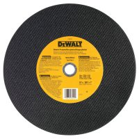 DeWalt® Type 1 - Cutting Wheels - Type 1 - Cutting Wheels, 14 in, 1 in Arbor, A24R, 4,400 rpm, General Purpose - DeWalt® - 115-DW8001
