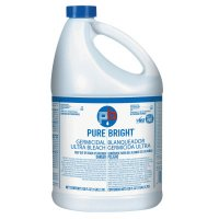 Lagasse/Pure Bright Liquid Bleach - Liquid Bleach, Fragrance-Free Scent, 1 Gallon Bottle - 124-BLEACH6 - Lagasse/Pure Bright