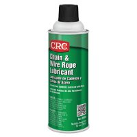 CRC Chain & Wire Rope Lubricants - Chain & Wire Rope Lubricants, 16 oz Aerosol Can - 125-03050 - CRC