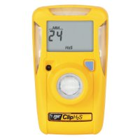Honeywell BW Clip Single-Gas Detectors - BW Clip Single-Gas Detector, Hydrogen Sulfide, Surecell, 10-15 ppm Alarm Setting - Honeywell BW - 126-BWC2-H