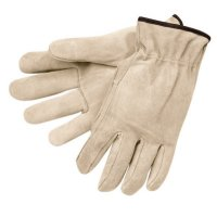 MCR Safety Premium-Grade Leather Driving Gloves - Premium-Grade Leather Driving Gloves, Cowhide, Large, Unlined, Straight Thumb - 127-3100L - MCR Safety