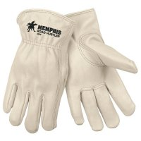 MCR Safety Unlined Drivers Gloves - Drivers Gloves, Premium Grade Cowhide, Medium, Unlined - 127-3200M - MCR Safety