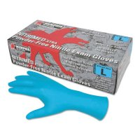 MCR Safety NitriMed™ Disposable Gloves - NitriMed Disposable Gloves, Powder Free, Textured, 6 mil, X-Large, Blue - 127-6012XL - MCR Safety