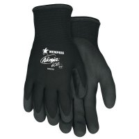 MCR Safety Ninja® Ice Gloves - Ninja Ice Gloves, X-Large, Black, 1.083 in, 1.083 in, Palm and Fingertip Coated - 127-N9690XL - MCR Safety