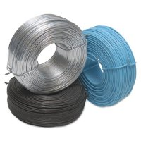 Ideal Reel Tie Wires - Tie Wires, 3 1/2 lb, 18 gauge Stainless Steel - 132-18-SS - Ideal Reel