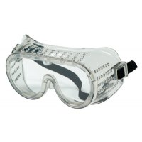 MCR Safety Protective Goggles - Protective Goggles, Clear/Clear, PVC, Antifog, Chemical Resistant, Indirect Vent - 135-2235R - MCR Safety