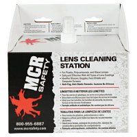 MCR Safety Disposable Lens Cleaning Stations - Disposable Lens Cleaning Stations, 8 in X 5 in - MCR Safety - 135-LCS1