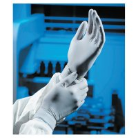 Kimberly-Clark Professional STERLING* Nitrile Exam Gloves - STERLING Nitrile Exam Gloves, Beaded Cuff, Small, Gray - 138-50706 - Kimberly-Clark Professional