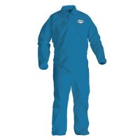 KLEENGUARD* A20 Breathable Particle Protection Coveralls, Denim Blue, X-Large - 138-58504 - Kimberly-Clark Professional
