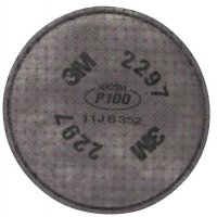 3M™ Personal Safety Division Advanced Particulate Filters - Advanced Particulate Filters, Filter, P100 - 3M - 142-2297
