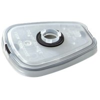 3M™ Personal Safety Division Adapters & Retainers - 6000 Series Adapter, Clear - 3M - 142-502