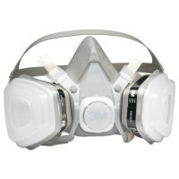 3M™ Personal Safety Division 5000 Series Half Facepiece Respirators - 5000 Series Half Facepiece Respirators, Medium, Organic Vapors/P95 - 142-52P71 - 3M