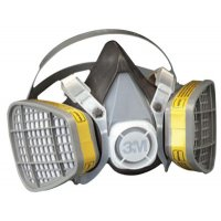 3M™ Personal Safety Division 5000 Series Half Facepiece Respirators - 5000 Series Half Facepiece Respirators, Large, Organic Vapors/Acid Gases - 3M - 142-5303
