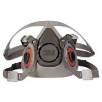 3M™ Personal Safety Division Half Facepiece Respirator 6000 Series - Half Facepiece Respirator 6000 Series, Medium - 3M - 142-6200