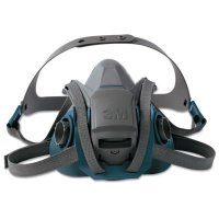 3M™ Personal Safety Division Rugged Comfort Half-Facepiece Reusable Respirators - Rugged Comfort Quic-Latch Half-Facepiece Reusable Respirators, Large - 142-6503QL - 3M