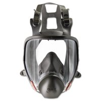 3M™ Personal Safety Division Full Facepiece Respirator 6000 Series - Full Facepiece Respirator 6000 Series, Medium - 3M - 142-6800