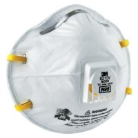 3M™ Personal Safety Division N95 Particulate Respirators - N95 Particulate Respirators, Half Facepiece, Non-Oil Filter, One Size - 142-8210V - 3M