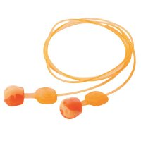 Honeywell Howard Leight® TrustFit™ Pod Earplugs - TrustFit Pod Earplugs, Foam, Orange, Corded - 154-TRUSTFITPOD-30 - Honeywell