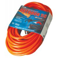 Vinyl Extension Cord, 50 ft, 1 Outlet - 172-02408 - CCI®