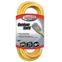 Southwire Yellow Jacket® Power Cords - Yellow Jacket Power Cord, 25 ft, 1 Outlet - 172-02587-88-02 - CCI®