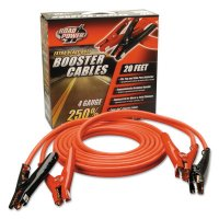 Southwire Automotive Booster Cables - Automotive Booster Cables, 4/1 AWG, 20 ft, Red - CCI® - 172-08660