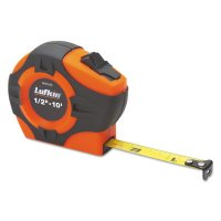 Crescent/Lufkin® P1000 Series Power Tapes - P1000 Series Power Tapes, 1 in x 25 ft, Inch/Engineers, Hi-Viz Orange - 182-PHV1425DN - Apex Tool Group