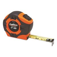Crescent/Lufkin® Quickread Power Return Tapes - Quickread Power Return Tapes, 1 in x 25 ft, Hi-Viz Orange - 182-PQR1425N - Apex Tool Group