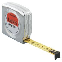 Mezurall® Measuring Tapes, 1/2 in x 10 ft, Inch/Metric - 182-W9210ME - Apex Tool Group