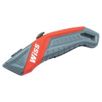 Crescent/Wiss® Auto-Retracting Safety Utility Knives - Auto-Retracting Safety Utility Knives, Black - 186-WKAR2 - Apex Tool Group