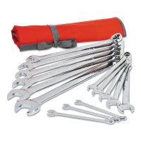 Crescent® 14 Piece SAE Combination Wrench Sets - 14 Piece SAE Combination Wrench Sets, 12 Points, SAE - 192-CCWS4 - Apex Tool Group