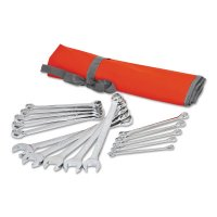 Crescent® 15 Piece Metric Combination Wrench Sets - 15 Piece Metric Combination Wrench Sets, 12 Points, Metric - Apex Tool Group - 192-CCWS5