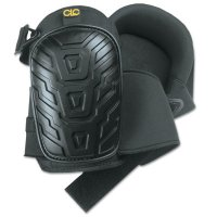 CLC Custom Leather Craft Professional Tread-Pattern Kneepads - Professional Tread-Pattern Kneepads, Slide Buckle, Black - 201-345 - CLC Custom Leather Craft