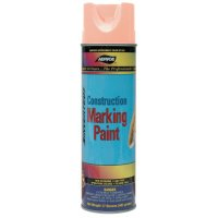 Aervoe Construction Marking Paints - Construction Marking Paints, 20 oz Aerosol can, Fluorescent Orange - 205-247 - Aervoe Industries