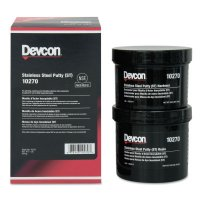 Devcon Stainless Steel Putty (ST) - Stainless Steel Putty (ST), 1 lb Can - 230-10270 - Devcon