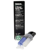 Devcon 5 Minute® Epoxy Gels - 5 Minute Epoxy Gels, 25 mL, Dual Syringe Tube, Amber - 230-14240 - Devcon