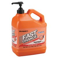Permatex® Fast Orange® Pumice Lotion Hand Cleaners - Fast Orange Pumice Lotion Hand Cleaners, Citrus, Bottle w/Pump, 1 gal - 253-25219 - Permatex®