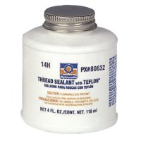 Permatex® Thread Sealants w/ PTFE - Thread Sealants w/ PTFE, 4 oz Can, White - 230-80632 - Permatex®