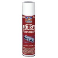 Permatex® High-Temp Red RTV Silicone Gasket - High-Temp Red RTV Silicone Gasket, 7.25 oz Automatic Tube, Red - 230-81915 - Permatex®