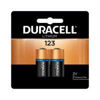 Duracell® Lithium Batteries - Duracell Batteries, Lithium Cell, 3 V, 123 - 243-DL123AB2PK - Duracell®