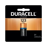 Duracell® Procell® Lithium Batteries - Duracell Procell Batteries, Lithium Cell, 3 V, 123 - Duracell® - 243-DL123ABPK