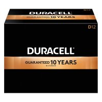 Duracell® CopperTop® Alkaline Batteries with DuraLock Power Preserve™ Technology - CopperTop Batteries, DuraLock Power Preserve Alkaline, 1.5 V, D - 243-MN1300 - Duracell®