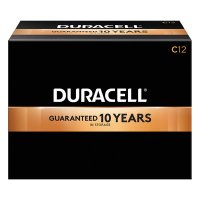 Duracell® CopperTop® Alkaline Batteries with DuraLock Power Preserve™ Technology - CopperTop Batteries, DuraLock Power Preserve Alkaline, 1.5 V, C - Duracell® - 243-MN1400