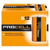 Duracell® Procell® Batteries - Duracell Procell Batteries, Non-Rechargeable Alkaline, 1.5 V, D - Duracell® - 243-PC1300