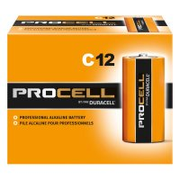 Duracell® Procell® Batteries - Duracell Procell Batteries, Non-Rechargeable Alkaline, 1.5 V, C - Duracell® - 243-PC1400