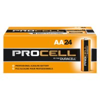 Duracell® Procell® Batteries - Duracell Procell Batteries, Non-Rechargeable Alkaline, 1.5 V, AA - 243-PC1500BKD - Duracell®