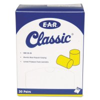 3M™ Personal Safety Division E-A-R™ Classic™ Foam Earplugs - E-A-R Classic Foam Earplugs, Uncorded, Pillow Pack - 247-310-1060 - 3M