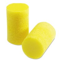 3M™ Personal Safety Division E-A-R™ Classic™ Foam Earplugs - E-A-R Classic Foam Earplugs, PVC, Yellow, Uncorded, Small - 247-310-1103 - 3M