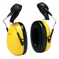 3M™ Personal Safety Division Optime 98 Earmuffs - Optime 98 Earmuffs, 23 dB NRR, Yellow, Cap Attached - 247-H9P3E - 3M